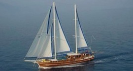 Gulet charter - sailing destination Split